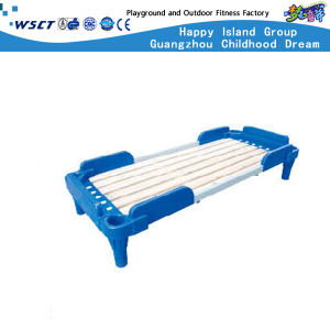 High Quality Kids Plastic Plank Bed Furniture Hc-2107 pictures & photos