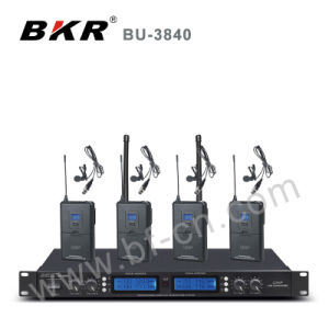 Bu-3840 UHF 4 Channel Conference Wireless System pictures & photos
