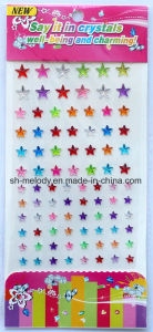 Multicolor Star Rhinestone Stickers/Acrylic Stickers/Mobile Phone Sticker pictures & photos