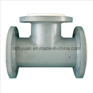 PTFE/Teflon Lined Tee (Equal tee) pictures & photos