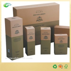 Recycle Cosmetic Box in Cardboard (CKT- CB-526)