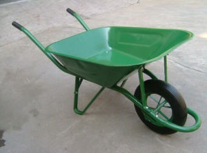 Stainless Steel Handle Wheel Barrow Wb6400 of Dubai Wheelbarrow pictures & photos