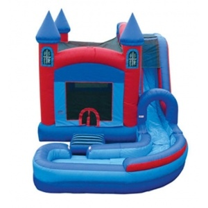 Inflatable Jumping Castle with Pool Jw0826-1 pictures & photos