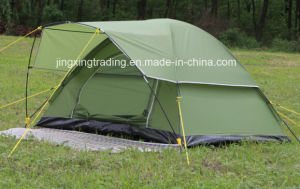 Waterproof Outdoor Polyester Camp Tent for 2 Persons (JX-CT021-1) pictures & photos