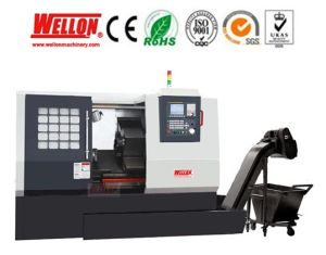 Slant Bed of CNC Lathe Machine (CNC Turning Lathe CK30D CK35D) pictures & photos