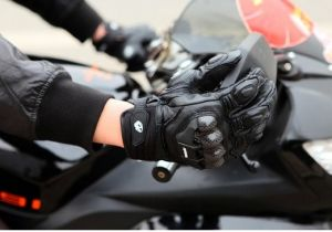Motorcycle Glove Racing Glove Outdoor Leather Glove pictures & photos