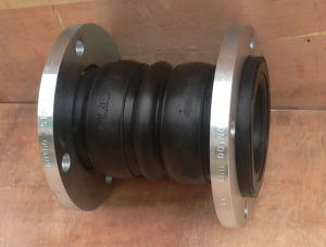 Flanged Rubber Joint, Double Sphere pictures & photos