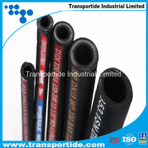 R1at/1sn, R2at/2sn Oil Resistant Good Flexible High Pressure Wire Braided Hose pictures & photos