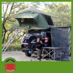 Green Color Roof Top Tent with Rain Fly pictures & photos