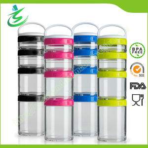 Hot Sales BPA Free Pill Box for Shaker Bottles pictures & photos
