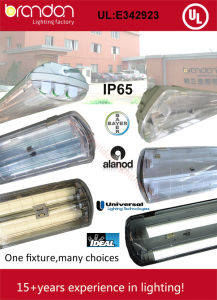 T8 LED Tube IP65 Vapor Tight Luminaire (MX486-Y36x3)