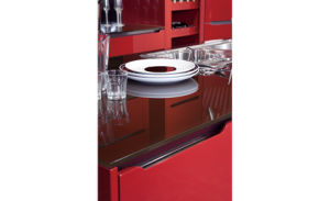2017 Modern Rta Customized Lacquer Kitchen Cabinets (zz-054) pictures & photos