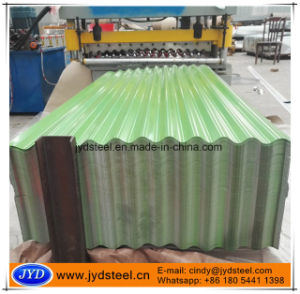 Corrugated PPGI Steel Roofing Sheet/Galvanized Wave Sheet pictures & photos