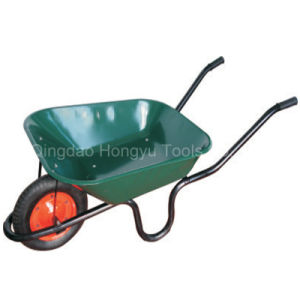 Painted Tray Solid Tyre Wheelbarrows pictures & photos