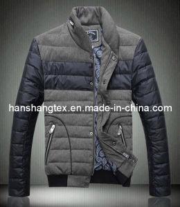 Fashion Jacket Fabric Nylon Poly Fabric (HS)