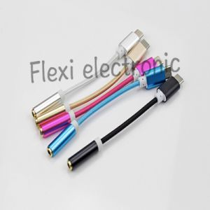 3.5mm Aux to USB C 3.1 Converter Cable pictures & photos