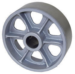 OEM Customized Ductile Cast Iron Sand Casting Pulley Wheel pictures & photos
