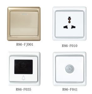 Wall Switch and Socket (R86-F Series) pictures & photos