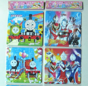 Custom Paperboard Cartoon Education Puzzles pictures & photos