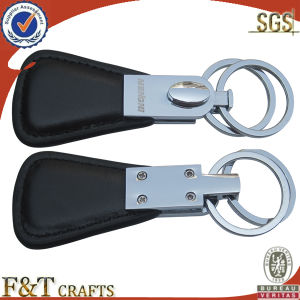 Promotional Nice Pure Leather Keychain pictures & photos