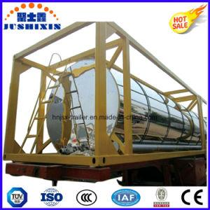 Csc Liquid Medium ISO 20 Feet Crude Oil/Petrol/Diesel Tank Container pictures & photos