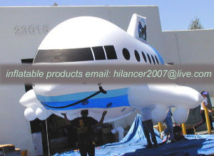 Oxford Advertising Inflatable Cartoon Model Inflatable Promotion Airplane pictures & photos