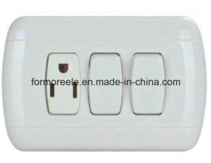 South American Standard Wall Switch pictures & photos