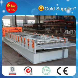 Hky Color Steel Roof Tile Roll Forming Machine pictures & photos