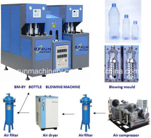 Pet Bottle Blower with One Oven Two Blowers pictures & photos