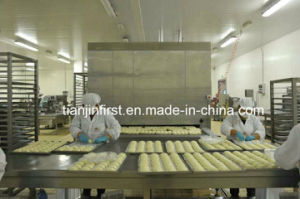 IQF Tunnel Fast Freezer for Fish Shrimp Dumplings Bread pictures & photos