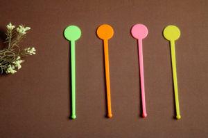 2018 New Design PS Teaspoon Plastic Tea Spoon pictures & photos