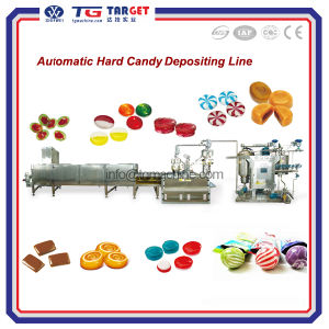 Automatic Hard Candy Depositing Line Candy Machine with High Quality pictures & photos