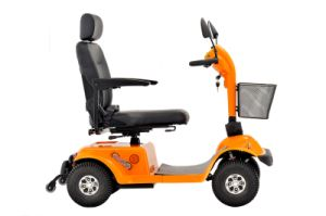 Four Wheels Mobility Scooter with Hand Break pictures & photos