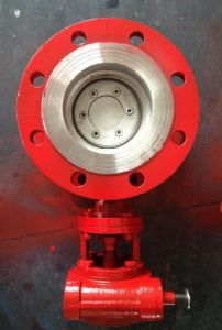 GB Wcb Flanged Butterfly Valve pictures & photos