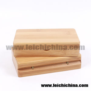 in Stock Magenetic Compartments Bamboo Fly Box pictures & photos