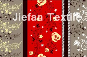 Floral Design Polyester Printed Fabric