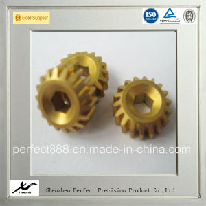 Small Brass Worm Gear