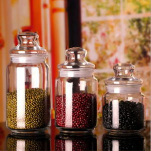 Customize Logo Jar Candle Jar Sealed Glass Jar Christmas Gift Coffee Jar pictures & photos
