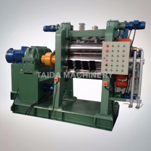 Four Roll Rubber Sheet Calender Calendering Machine pictures & photos