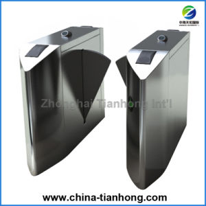 Metro Optical Half Height Flap Barrier Turnstile pictures & photos