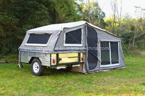 Soft Floor off Road Camper Trailer with Aluminium Decoration