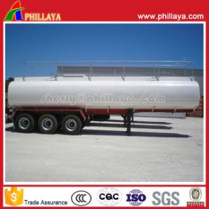 45cbm 3axles Asphalt Trailer / Bitument Tanker with Heating System pictures & photos