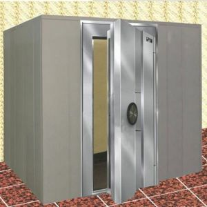Stainless Steel Double Door Financial Vault Door pictures & photos