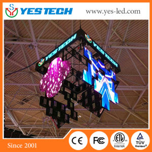 Full Color Hanging Irregular Shape (Diamond/ flower/Coin/Petal Shape) LED Display pictures & photos
