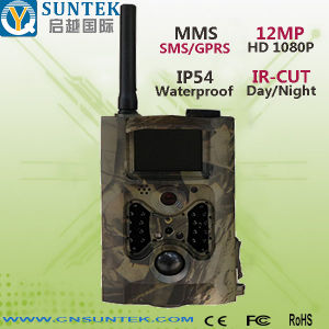 12MP GPRS MMS SMS Command Trail Game Camera (HC300M)