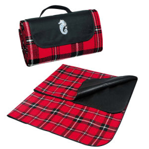 Folding Waterproof Polyester Picnic Rug Carpet Mat Blanket (BLA0122) pictures & photos
