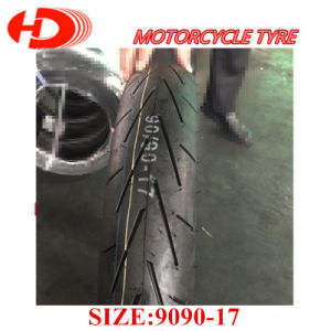 High Quality Natural Rubber 90/90-17, 110/90-17 Tubeless Motorcycle Tires pictures & photos