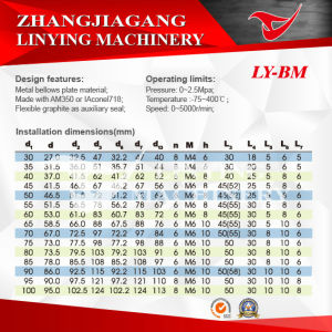 Mechanical Seal (LY-BM) pictures & photos