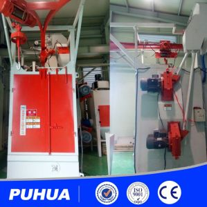 Q37 High Quality Hook Type Shot Blasting Machine Hanger Type pictures & photos