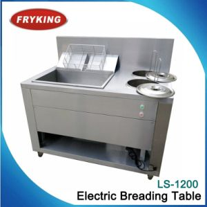 Half-Auto Commercial Electric Wrapping Powder Table pictures & photos